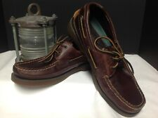 Sperry Top Sider Mako Collection Men's Boat Shoes Size 8 1/2 M Brown Leather
