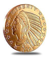 INCUSE INDIAN - 20 Coins - 1 oz each .999 Fine Copper Bullion