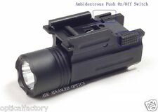 Strobe Quick Release Tactical 200 Lumen Led Cree Powered Pistol Flashlight Light