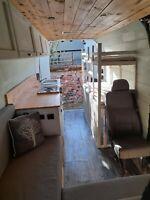 Renault master 2012 lwb off grid campervan conversion 4 berth *NO RESERVE*