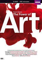 3 DVD Set Simon Schama s The Power Of Art - The Complete BBC Series