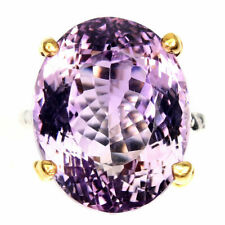 TOP AMETHYST RING : Natürlicher Purpur Amethyst Ring Gr. 17,75 925er Silber R739