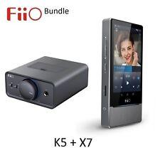 Fiio K5 Amplificador De Escritorio/Dock + X7 Android sin pérdida (FLAC/MP3/DXD/PCM) paquete DAC/DAP