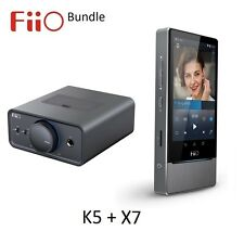 FiiO K5 Desktop Amp/Dock + X7 Android Lossless (FLAC/MP3/DXD/PCM) DAP/DAC BUNDLE