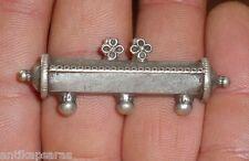 51mm Pendentif Argent Inde Ancien Collier Antique Silver Indian Pendant Necklace