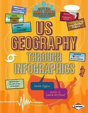 Us Geography Through Infographics (Super Social Studies Infographics)-ExLibrary