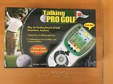 Excalibur Talking Pro Golf Electronic Handheld Portable Video Game Model 383