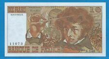 GERTBROLEN 10 FRANCS ( BERLIOZ  ) du 6-2-1975  S.140