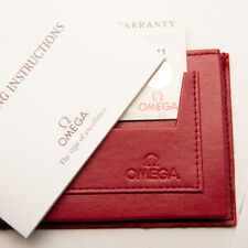 Vintage Omega Operating Instructions Book and Wallet