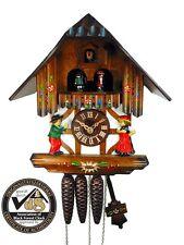 Original Schwarzwälder Kuckucks-Uhr/Schwarzwald-Uhr 1-Tag Tanz Musik Tracht Holz