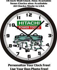HITACHI POWER TOOLS WALL CLOCK-FREE USA SHIP!