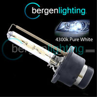 D2S WHITE XENON HID LIGHT BULB HEADLIGHT HEADLAMP 4300K 35W FACTORY OEM FITTED 1
