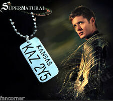 Supernatural collier Plaque chevy impala KAZ2Y5 Chevy impala licence dog tag