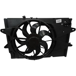 10-17 Chevy Equinox GMC Terrain 2.4L Engine Cooling Fan Assembly OEM GM 25952785