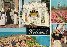 Holland Multiview Postcard 1974 used VGC