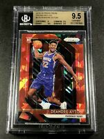 DEANDRE AYTON 2018 PANINI PRIZM #279 RED ICE REFRACTOR ROOKIE RC BGS 9.5