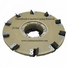 """Floor Machine 20"""" Concrete Coating Removal Tool 25 grit, Mastic, Adhesives"""