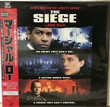 The Siege Laserdisc Japan Import PILF-2850