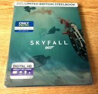 Best Buy Limited Edition Steelbook Skyfall 007 Bluray w/Digital HD *Brand New*