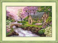"Counted Cross Stitch Kit RIOLIS - ""The Spring View"""