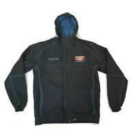 V8 Supercars Mens Bathurst 1000 Jacket, Black/Blue, Size Large Racing Sport