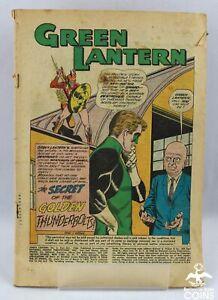 1960 DC Comic Green Lantern #2 Secret of the Golden Thunderbolts w/o cover!