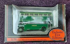 Exclusive first editions 1:76 scale precision die-cast model Greenline bus boxed