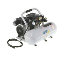 Quipall 2-1-SIL-AL Oil Free Compressor, 1.0 HP, 2 gallon, Aluminum Tank NEW