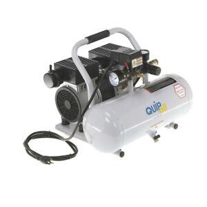 Quipall 1 HP 2 Gal. Oil-Free Hotdog Air Compressor 2-1-SIL-AL New