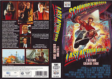 LAST ACTION HERO L'ultimo grande eroe (1993) VHS COVER 1ª EDIZIONE DOUBLE FACE