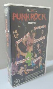 The Punk Rock Movie VHS Tape - RARE - Sex Pistols - The Clash - X-Ray Spex