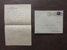 Autografo Amedeo Tosti Storico Militare Lettera Generale Ferrero Bologna 1939