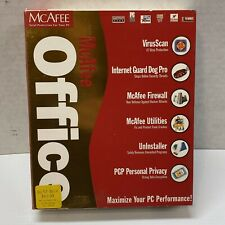 McAfee Office 3.1 For PC Windows ME,98 & 95 Big Box Complete