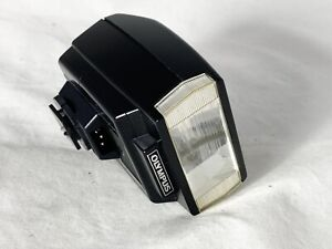 Olympus T20 Flashgun - new Duracells - Working Perfectly - Manual
