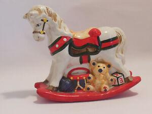 Spardose Karussell Pferd Schaukelpferd Vintage