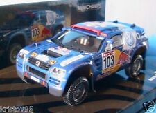 VW RACE TOUAREG #103 WINNER RALLY POR LA PAMPAS 2005 SABY 1/43 MINICHAMPS PERIN