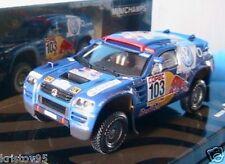 VW RACE TOUAREG #103 WINNER RALLY POR LA PAMPAS 2005 SABY 1/43 MINICHAMPS PERIN