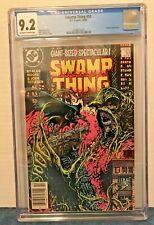 "SWAMP THING 53 CGC 9.2 O-W/WP NEWSTAND BATMAN COV. & APP. ""DEATH OF SWAMP THING"""