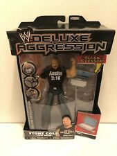 WWE JAKKS Deluxe Aggression Stone Cold Steve Austin Series 13 Figure