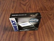Nintendo Game Boy Advance, GBA SP Graphite System AGS 101 -- Brand New --