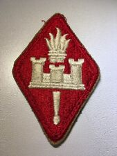 Post WWII US Army Engineer Center Cut Edge Patch
