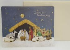 Lang Christmas Cards Nativity Glory to the Newborn King Artist Tim Coffey 2008