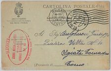 ITALY - POSTAL HISTORY: Fiel Post card from ITALIAN RED CROSS Medicine 1916