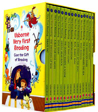 Usborne Very First Reading 16 Books Collection Set Gift Pack Read at home School