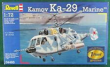 "1:72 SCALE INJECTION MOLDED KAMOV Ka-29 ""MARINE"" by REVELL"