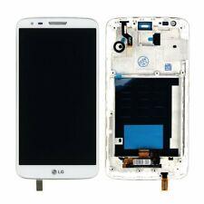 LG G2 D800 D801 Full LCD Touch Screen Digitiser With Frame - White