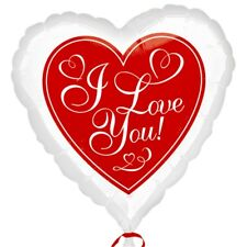 Anagram 18 Inch Foil Balloon - Red Hot Love - Valentines Day Vday Decorations