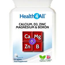 Vitamin D3, Calcium, Zinc, Magnesium & Boron 180 Tablets   EXCELLENT COMBINATION