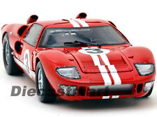SHELBY COLLECTIBLES 1:18 1966 FORD GT GT40 MKII DIECAST CLASSIC CAR RED #3