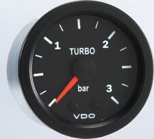 VDO Vision Turbo Boost Gauge 3 Bar Metric 150-102 w/ Line Kit  - SUPER PRICE!!!!